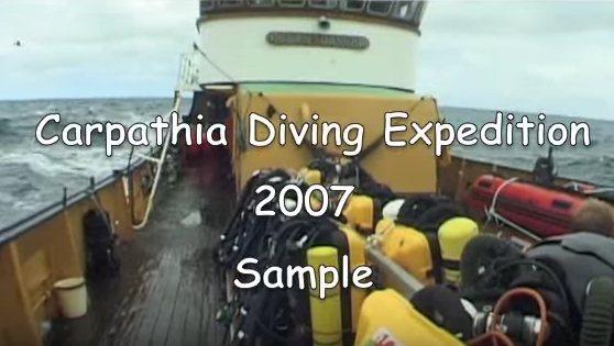 RMS Carpathia Wreck Diving Expedition 2007
